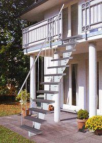 Fabulous Außentreppe Bausatz Aussen Treppen.Holzkomplett.de LO67