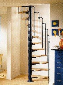 luxholm spindeltreppen gel nder f r au en. Black Bedroom Furniture Sets. Home Design Ideas