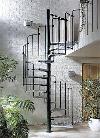 spindeltreppen bausatz. Black Bedroom Furniture Sets. Home Design Ideas